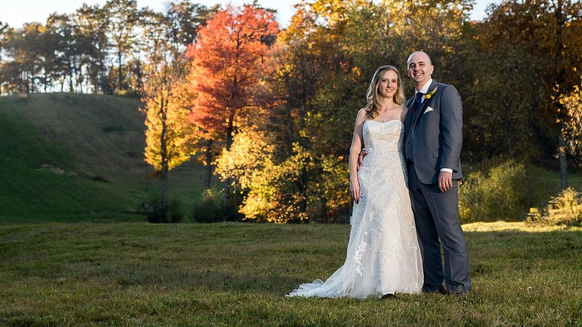 Portraits from a wedding at Wisp Ski Resort
